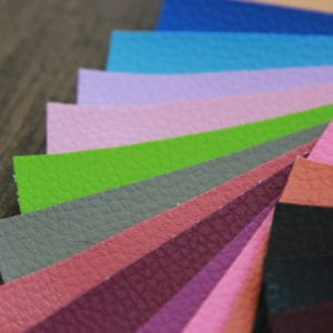 PVC [0.6 mm] - สีพื้นลาย PD
